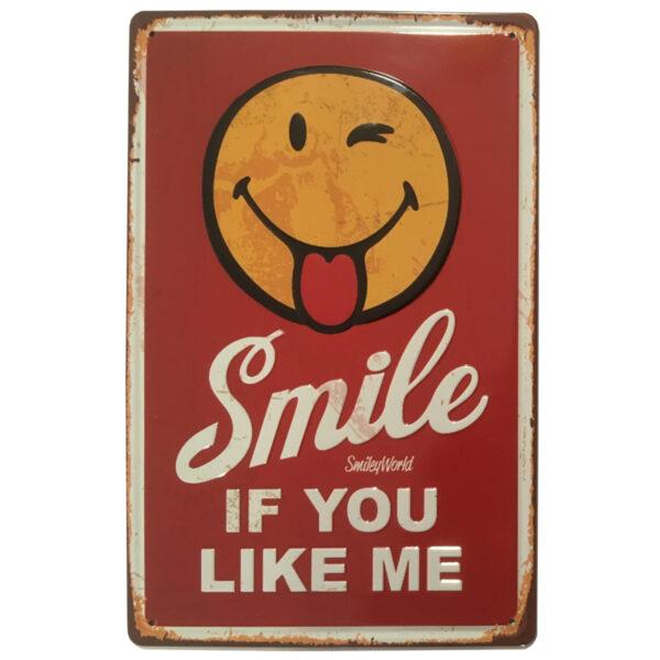 Chapa Vintage Smile if you like me