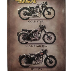 Placa Decorativa Vintage / Motos BSA