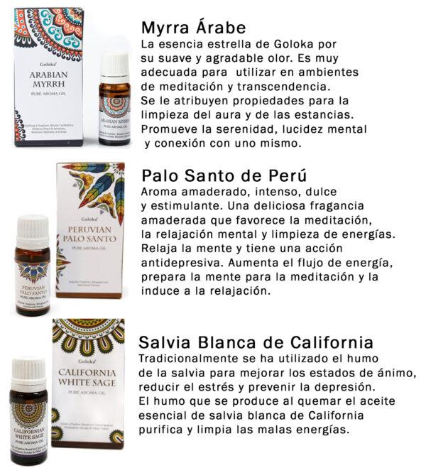 Aceites esenciales aromaticos