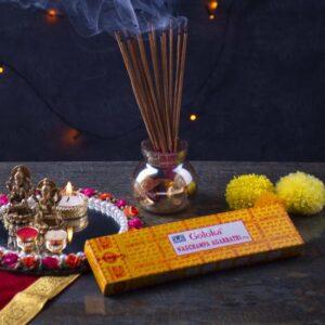 Inciensos Goloka: Principales variedades y aromas