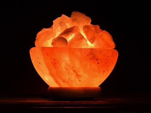porta velas de sal del himalaya propiedades