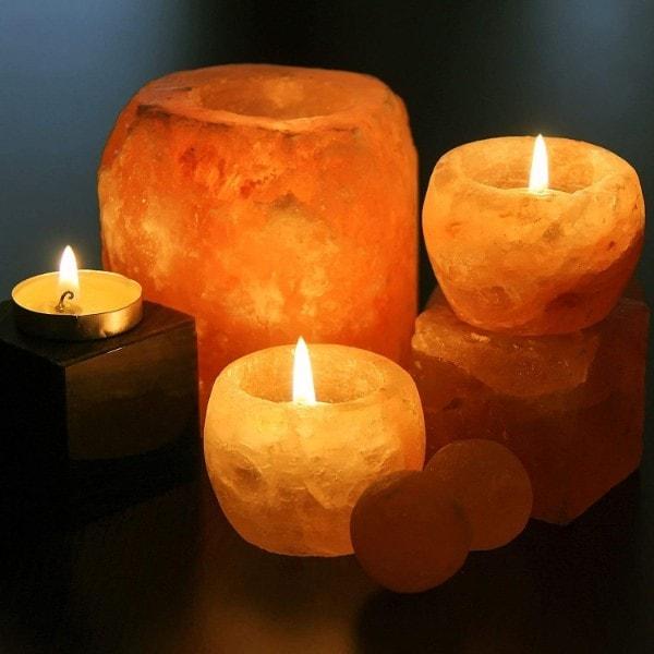 Porta velas de Sal del Himalaya: Todo lo que necesitas saber